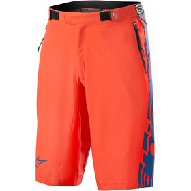 Alpinestars Mesa Shorts Herr energy orange/poseidon blue